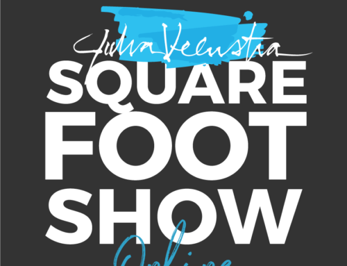 My 1st ONLINE! Square Foot Show